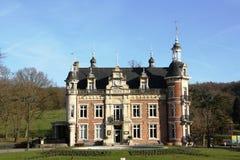Huizingen slott, Belgien Royaltyfri Bild