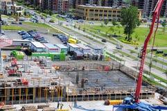 Huk betonowa pompa zdjęcie royalty free
