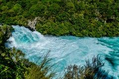 HUKA-DALINGEN - Taupo, Nieuw Zeeland royalty-vrije stock afbeelding