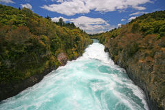 Huka Falls Stock Photo