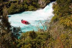 Huka falls Lake Taupo New Zealand Royalty Free Stock Images