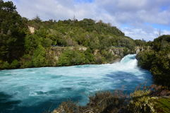 Huka Falls stock photography