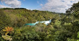 Huka Falls near Taupo Stock Photo