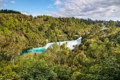 Huka Falls near Taupo Stock Image