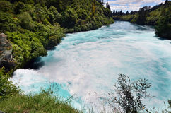 Huka Falls New Zealand Stock Photography