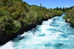 Huka Falls New Zealand Royalty Free Stock Photo