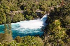 Huka falls, New Zealand. Huka falls located on the Waikato River, New Zealand Royalty Free Stock Photos