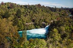 Huka falls, New Zealand. Huka falls located on the Waikato River, New Zealand Royalty Free Stock Images
