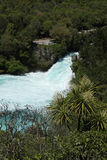Huka Falls, New Zealand Stock Photo