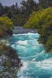 Huka Falls, New Zealand Stock Image