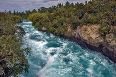 Huka Falls, New Zealand Royalty Free Stock Photos