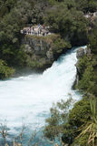 Huka Falls, New Zealand Stock Images