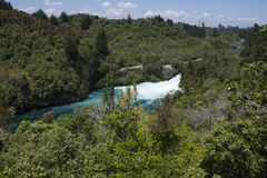 Huka Falls, New Zealand Royalty Free Stock Photography
