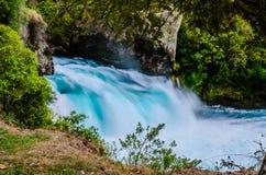 Huka falls, New Zealand, Waikato. Royalty Free Stock Image