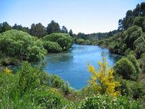 Huka Falls River Stock Photography