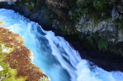 Huka Falls Royalty Free Stock Photography