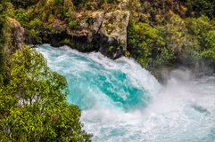 Huka Falls royalty free stock photo