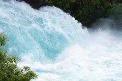 Huka Falls, Waikato River, New Zealand Royalty Free Stock Photography