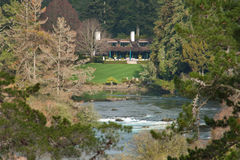 Huka Lodge Stock Photo