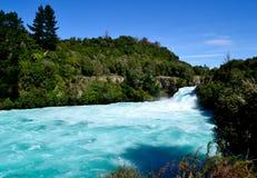 Huke nedgångar - Taupo Royaltyfria Bilder