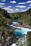 Hukka baja río Nueva Zelandia Imagen de archivo