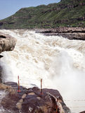 Huko vattenfall Royaltyfria Foton