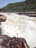 Hukou Waterfall Royalty Free Stock Photos