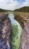 Hukou-Wasserfall von Gelbem Fluss Lizenzfreie Stockbilder