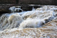 Hukou waterfall Stock Photos