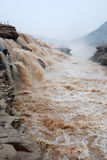 Hukou Waterfall of Chinas Yellow River Stock Images