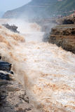 Hukou Waterfall of Chinas Yellow River Royalty Free Stock Images