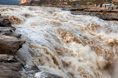 Hukou Waterfall. Eastphoto, tukuchina,  Hukou Waterfall, outdoor scenery Stock Photos
