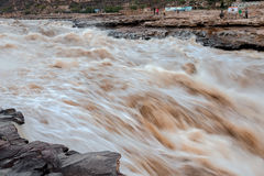 Hukou Waterfall. Eastphoto, tukuchina,  Hukou Waterfall, outdoor scenery Royalty Free Stock Photography