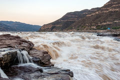 Hukou Waterfall. Eastphoto, tukuchina,  Hukou Waterfall, outdoor scenery Stock Photography