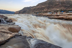 Hukou Waterfall Royalty Free Stock Photography