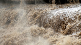 Hukou Waterfall Royalty Free Stock Photos