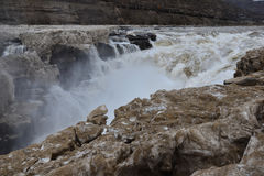 Hukou Waterfall. Eastphoto, tukuchina,  Hukou Waterfall, outdoor scenery Stock Photo