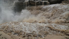 Hukou Waterfall. Eastphoto, tukuchina,  Hukou Waterfall, outdoor scenery Royalty Free Stock Image