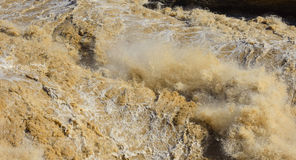Hukou Waterfall. Eastphoto, tukuchina,  Hukou Waterfall, outdoor scenery Royalty Free Stock Photos