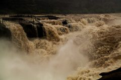 Hukou Waterfall. Eastphoto, tukuchina,  Hukou Waterfall, outdoor scenery Stock Image