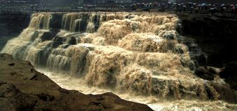 Hukou Waterfall. Eastphoto, tukuchina,  Hukou Waterfall, outdoor scenery Royalty Free Stock Photo