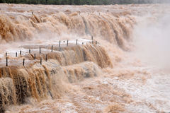 Hukou Waterfall Stock Images