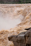 Hukou Waterfall Stock Photography