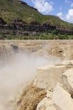 Hukou Waterfall of Yellow River Stock Image