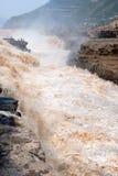 Hukouwaterval van de Gele Rivier van China Royalty-vrije Stock Afbeeldingen