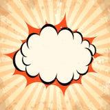 Huku pow chmury tło royalty ilustracja