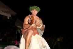 Hula舞蹈家 库存图片