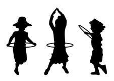 hula στεφανών Στοκ εικόνα με δικαίωμα ελεύθερης χρήσης