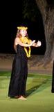 Hula dancer Royalty Free Stock Image