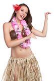 Hula Dancer Girl Royalty Free Stock Image
